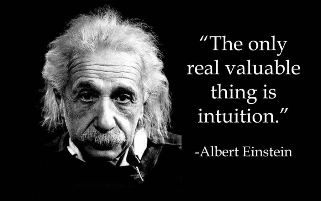 einstein intuition