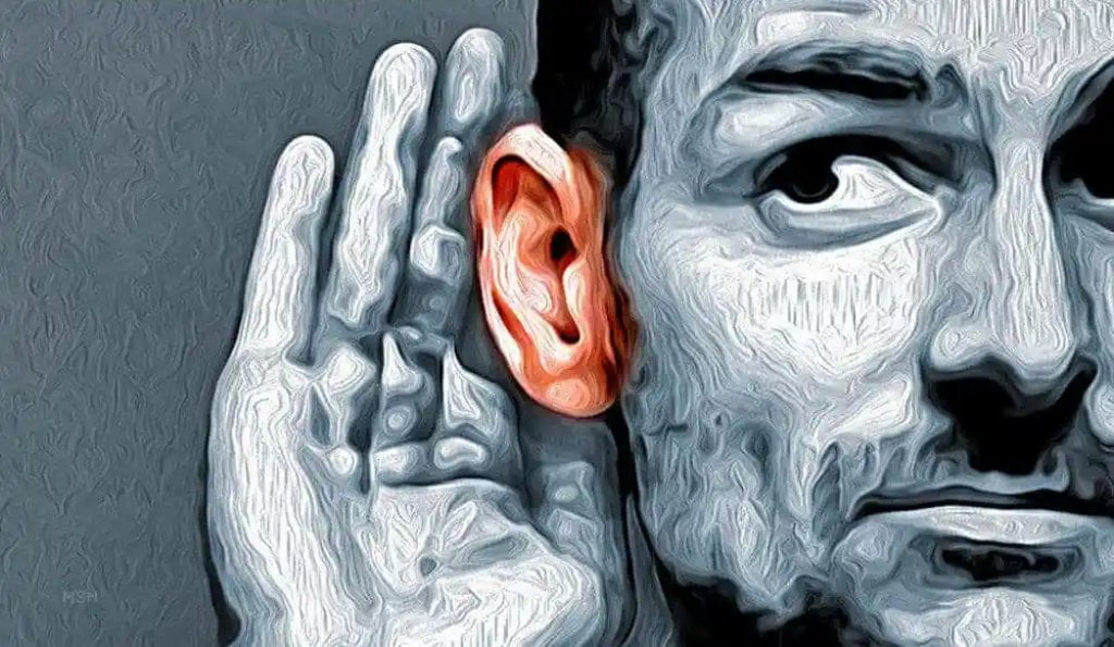 normal people hear voices