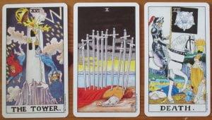 scary tarot cards
