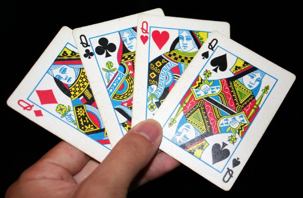 queen playing cards