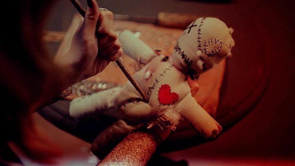 black magic voodoo doll