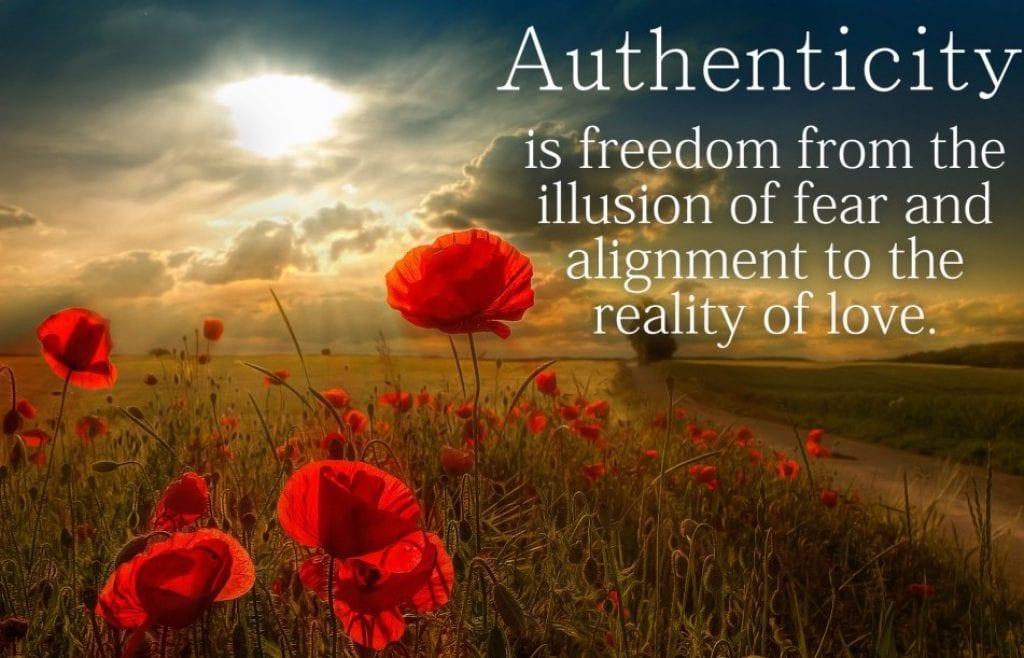 always be authentic