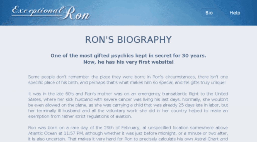 exceptional ron