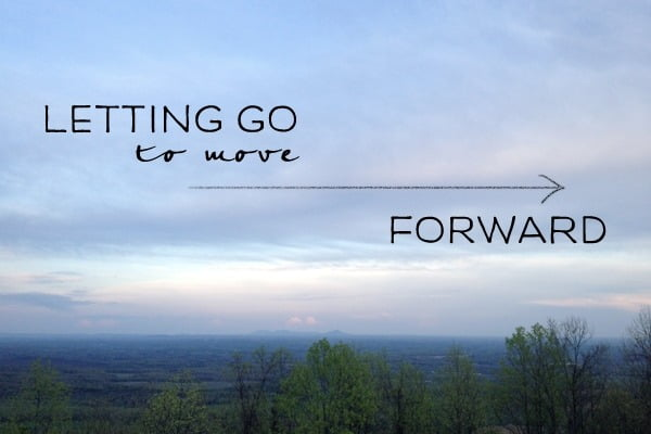 Letting go during meditation