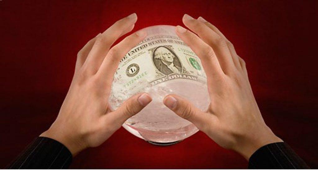 money crystal ball