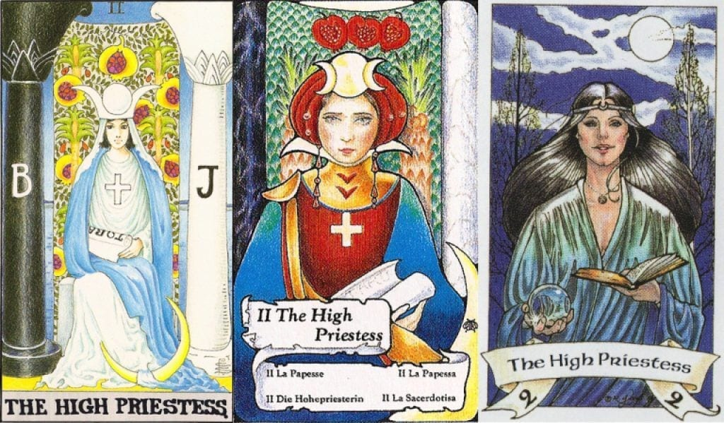 the priestess tarot card