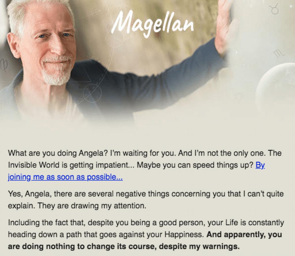 magellan scam email