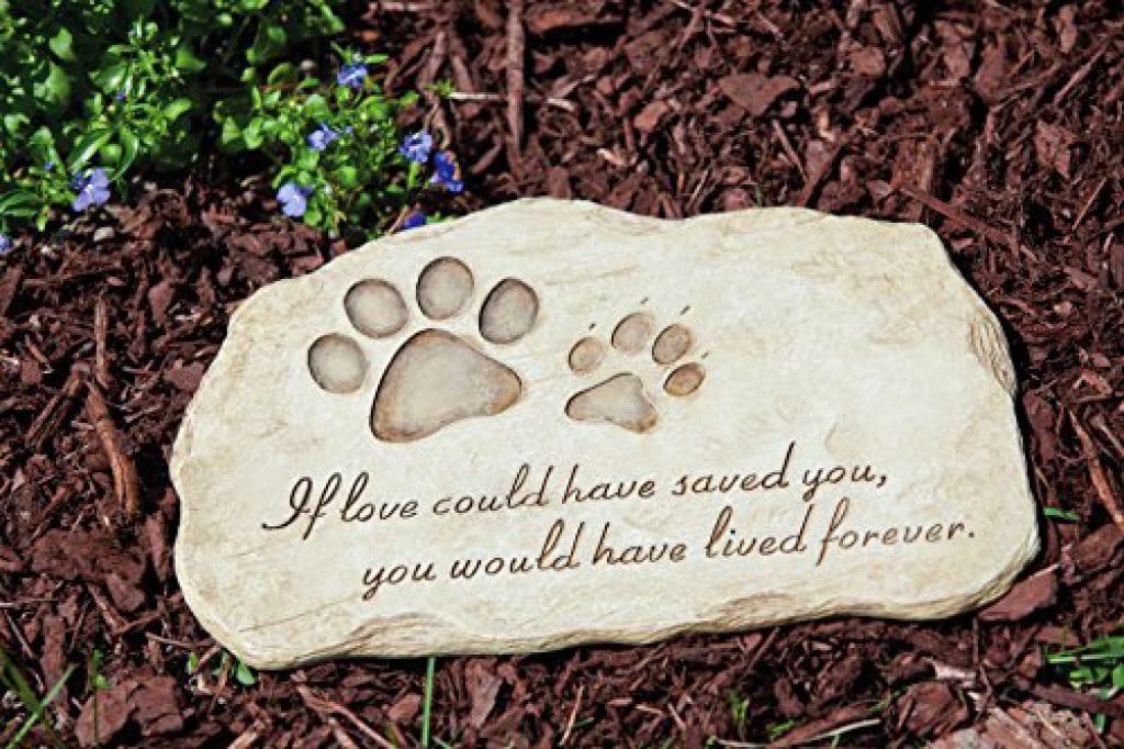pet memorial grave stone