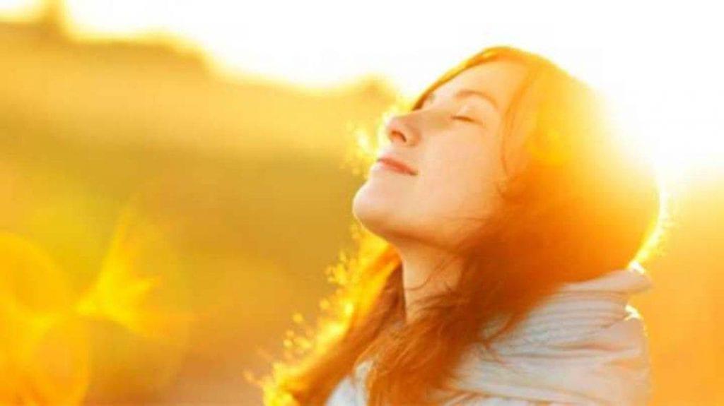 sunshine improves mood