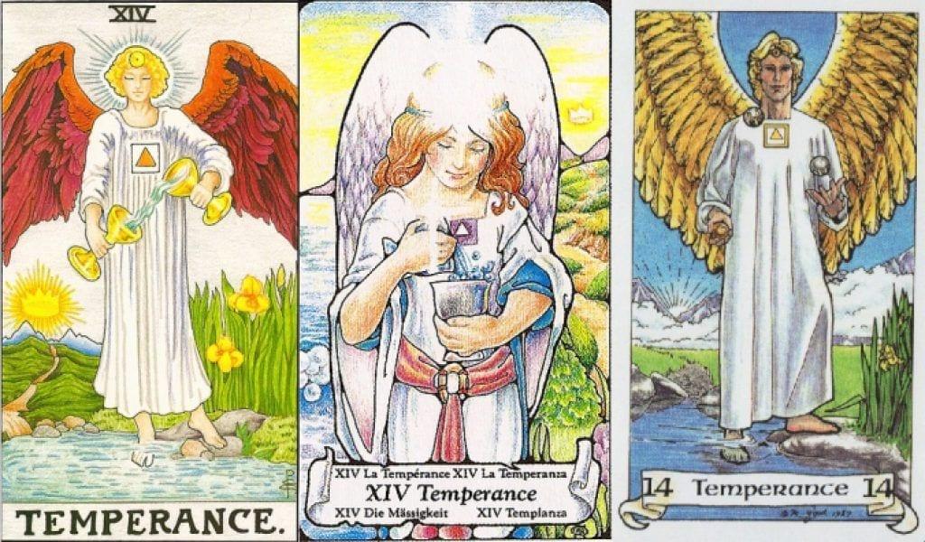 the temperance tarot card