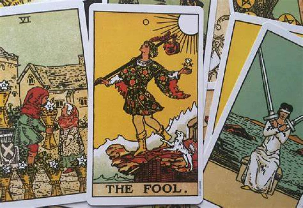 water tarot card meaning