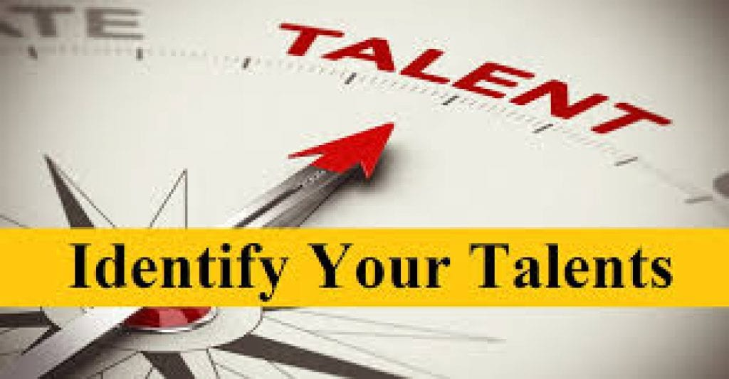 identify your talents