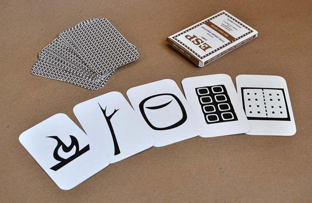 Zener cards experiment